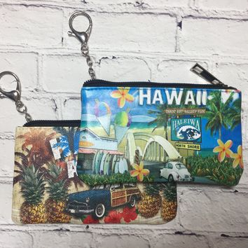 Hawaiian Keychain Wallets