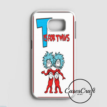 Thing 1 And Thing 2 Samsung Galaxy S7 Case | casescraft