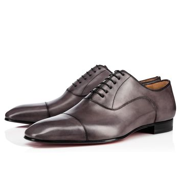 GREGGO FLAT STORM Calf - Men Shoes - Christian Louboutin