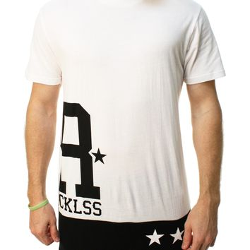 Young & Reckless Men's Large R Stripes Graphic T-Shirt