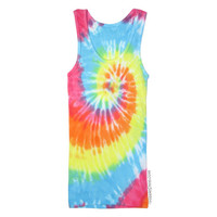 Pastel Spiral Tie Dye Tank Top on Sale for $18.95 at HippieShop.com