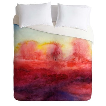 Jacqueline Maldonado Where I End Duvet Cover