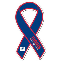 New York Giants Ribbon Magnet