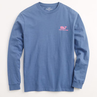 Long-Sleeve Whale Moke T-Shirt
