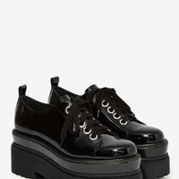 Jeffrey Campbell Schism Patent Leather Oxford