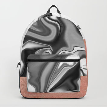 Marbled Sky Backpack by Printapix
