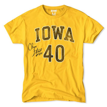 Iowa Chris Street Signed Tee