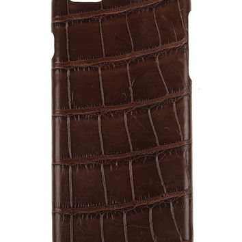 IPhone 6S / S Case Alligator Brown
