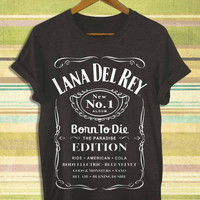 Screenprint funny popular shirt on etsy lana del rey born to die 1 for t shirt mens, t shirt woman available size by RnhKaos