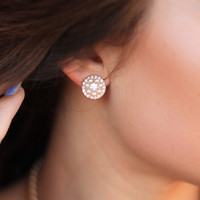 Stone Fortress Earrings
