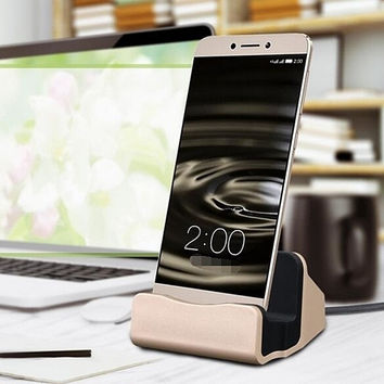 Creative Charge Sync Lightning Express Dock Charging Dock Station iPhone 7 7Plus & iPhone se 5s 6 6 iOS and Samsung Android