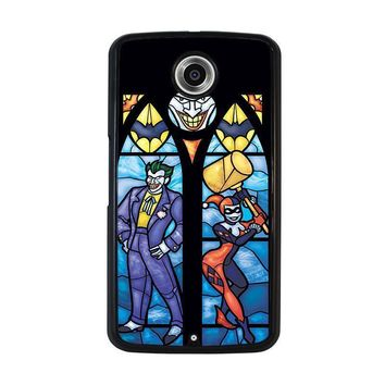 joker and harley quinn art nexus 6 case cover  number 2