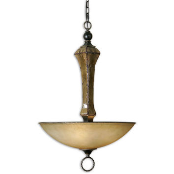 Uttermost 21945 Porano Ceramic Three-Light Pendant