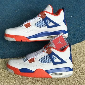 [Free Shipping ]Air Jordan 4 Retro 308497-171  Basketball Shoes