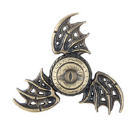 2017 New Fidget Toy Game of Thrones Hand Spinner Metal Finger Stress Tri Spinner Dragon
