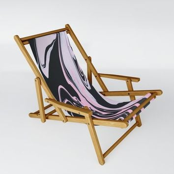 Heavy Marble Sling Chair by duckyb