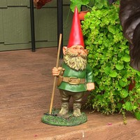 "Woody Jr. the Garden Gnome - 13.5"" Tall"