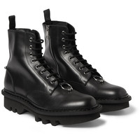 Neil Barrett - Leather Lace-Up Boots | MR PORTER