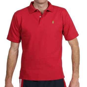 Home Grown Polo Red