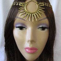 Headpiece and Hair Swags Starburst Headpiece
