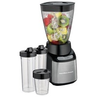 Hamilton Beach - Stay or Go 32-Oz. Blender - Black and Brushed Stainless Steel