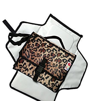 BuntyBaby Diaper Changing Pad/Kit/Mat/Station/Table Is Portable & Waterproof.The Diaper Clutch Bag Is Handy While On Travel.