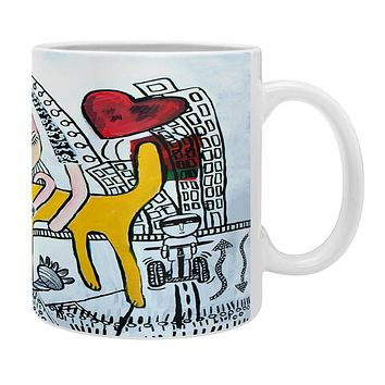 Robin Faye Gates Hug Your Dog Coffee Mug