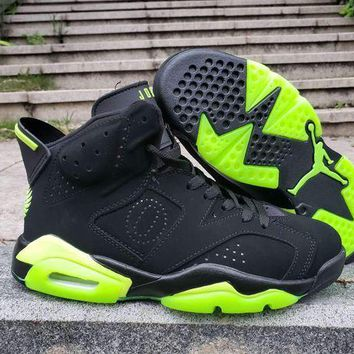 DCCK Air Jordan 6 Retro Black/Green