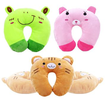 Cute Animal U-Shaped Travel Neck Pillow