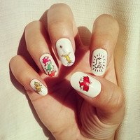 Keith Haring Nail Decals