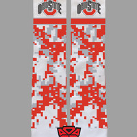 Ohio State University - Custom Socks - Socktimus Prime - Buckeyes, National Champions, Bucks, NCAA Football