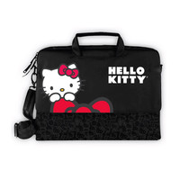 Hello Kitty Laptop Case- Black