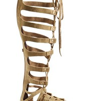 Women's Free People 'Cypress' Suede Leather Sandal