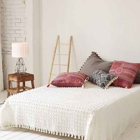 Tufted Dot Coverlet