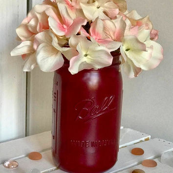 Wedding Centerpieces/ Table Decorations/ Vintage Mason Jar/ Rustic Mason Jar/ Housewarming Gift/ Gift idea for Her/ Gift For Mom/ Mason Jar