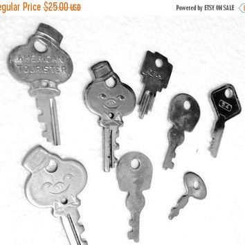 Now On Sale American Tourister Key Luggage Keys Figural Bellboy Vintage key