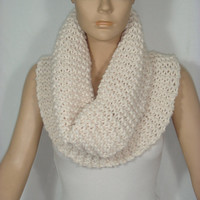 2013 Trend Cowl/Scarf/Neck Warmer (Ivory) by Arzu's Style