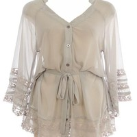 Vintage Lace Blouse | Women's Tops | RicketyRack.com