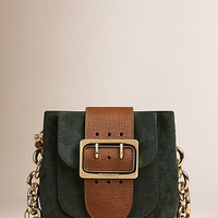 The Belt Bag – Square in English Suede and Leather