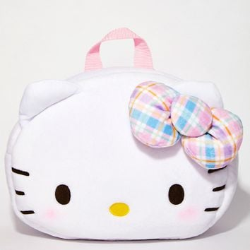 Face Plush Backpack