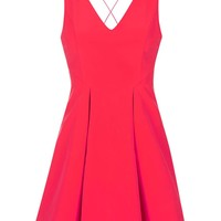 Strappy Bonded Mini Dress - Topshop