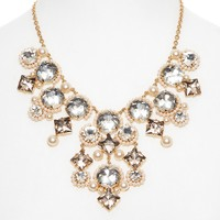 kate spade new york Palace Gems Statement Necklace, 16""