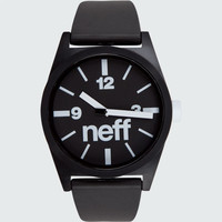 Neff Daily Watch Black One Size For Men 18062910001