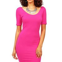 Scoop Bodycon Dress