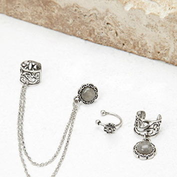 Filigree Ear Cuff Set