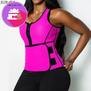 NEW Neoprene Sauna Vest Body Shaper Slimming Waist Trainer