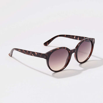 Oversized Round Sunglasses | LOFT