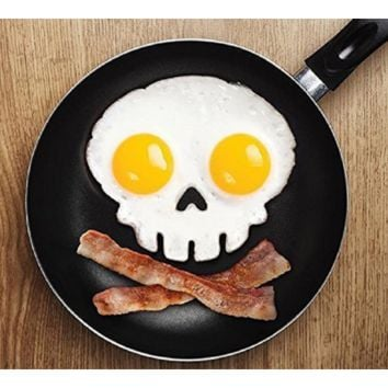 Halloween Fun Breakfast Face Silicone Egg Mold