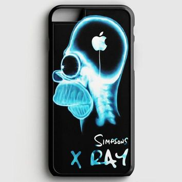 Homer The Simpsons X Ray iPhone 6 Plus/6S Plus Case
