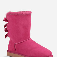 Ugg Bailey Bow Womens Boots Red Violet  In Sizes